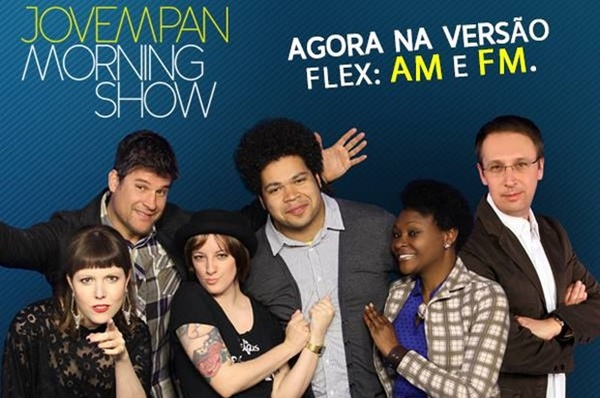 Numero de WhatsApp do programa Morning Show - Jovem Pan